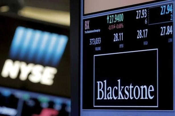 The ticker and trading information for Blackstone Group