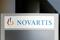 The logo of Swiss drugmaker Novartis is pictured at the