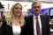 FILE PHOTO: Federal Reserve Chair Jerome Powell poses for photos with Fed Governor Lael Brainard at the Federal Reserve Bank of Chicago