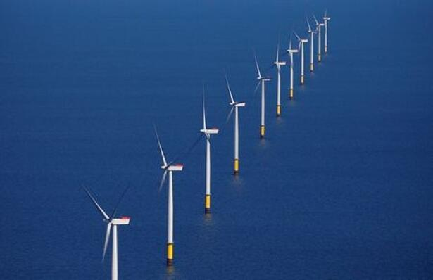 FILE PHOTO: General view of the Walney Extension offshore wind
