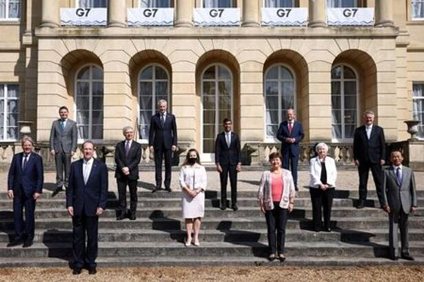 FILE PHOTO: G7 finance ministers meeting in London