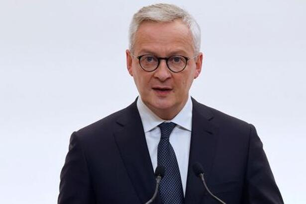 French Economy and Finance Minister Bruno Le Maire