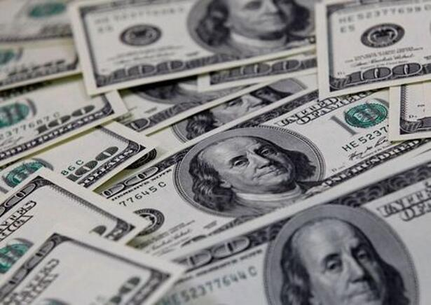 U.S. one hundred dollar notes are seen in