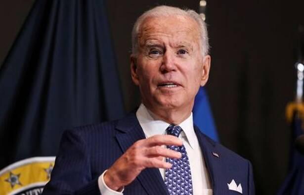 U.S. President Joe Biden visits Office of the Director of