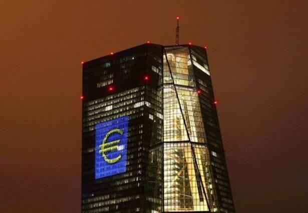 Sede do Banco Central Europeu, em Frankfurt, Alemanha