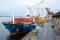 Navio cargueiro descarrega soja no porto de Paranaguá, no Paraná