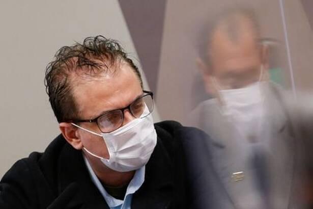 Representante da Davati Cristiano Carvalho presta depoimento na CPI da