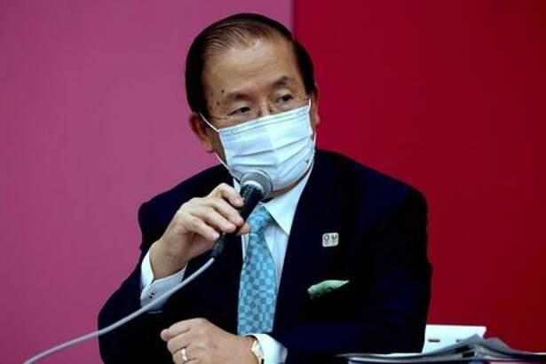 Presidente-executivo da Tóquio 2020, Toshiro Muto, durante entrevista coletiva em