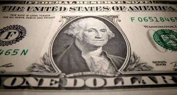 FILE PHOTO: FILE PHOTO: A U.S. dollar banknote is seen