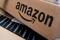 FILE PHOTO: FILE PHOTO: Amazon boxes are seen stacked for
