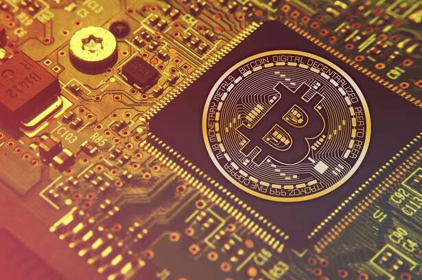 Bitcoin in chip