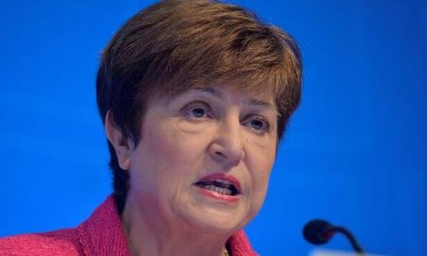 IMAGEN DE ARCHIVO. La directora gerente del Fondo Monetario Internacional, Kristalina Georgieva, en las reuniones anuales de otoño boreal del FMI y el Banco Mundial, en Washington, EEUU