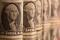 FOTO DE ARCHIVO. Billetes de un dólar