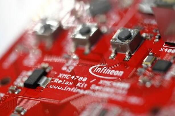 Imagen de archivo de un dispositivo de la firma Infineon en Múnich, Alemania.