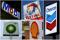 Foto de archivo combinada de los logos de las empresas petroleras BP, Chevron, Exxon Mobil, Royal Dutch Shell y Total