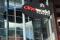 Foto de archivo ilustrativa del logo de Cineworld en Canary Wharf, Londres