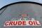 IMAGEN DE ARCHIVO. Un tanque de almacenamiento de crudo en la Cuenca Pérmica, en Mentone, Condado de Loving, Rexas, EEUU