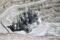 IMAGEN DE ARCHIVO REFERENCIAL. Explosiones se ven en Escondida, la mayor mina de cobre del mundo, ubicada cerca de Antofagasta, en el norte de Chile. Marzo 31, 2008. REUTERS/Iván Alvarado