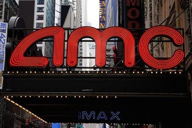Imagen de archivo. Teatro de AMC en Times Square, Nueva York