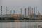 FOTO DE ARCHIVO. La refinería de petróleo de Abadan, en el suroeste de Irán, es vista desde el lado iraquí de Shatt al-Arab, en Al-Faw, al sur de Basora, Irak