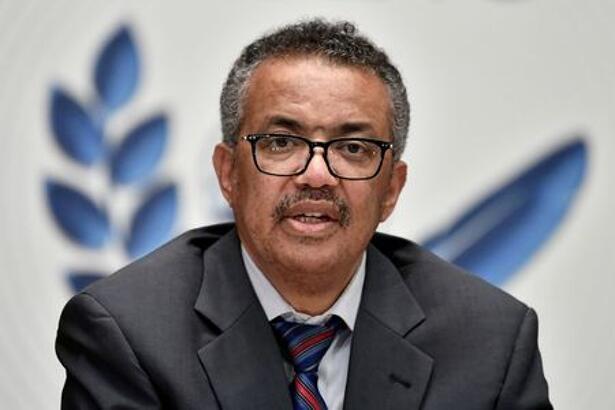 IMAGEN DE ARCHIVO. El director general de la Organización Mundial de la Salud, Tedros Adhanom Ghebreyesus, durante una conferencia de prensa en Ginebra