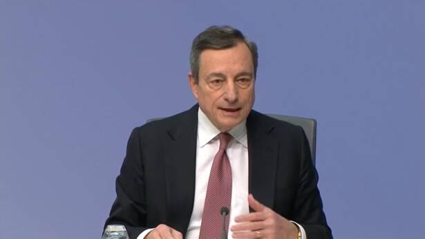 Tassi interesse, Mario Draghi
