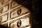 Gelddruckplatten der USA im Museum of American Finance in