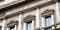 Facade of the Bank of Italy
