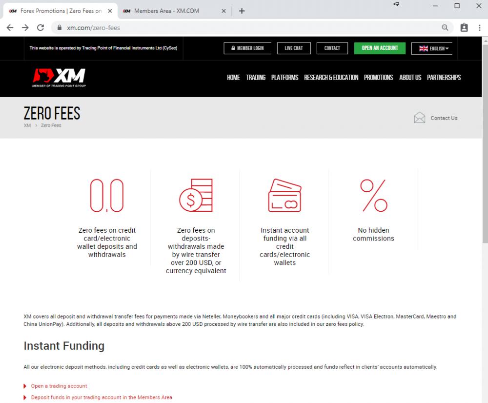 บัญชี XM Ultra Low คือ